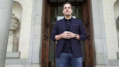 Rueda de prensa seleccionador español Robert Moreno