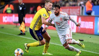 Selección absoluta clasificatorio EUROCOPA 2020: Suecia - España