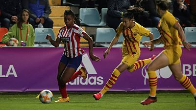 Supercopa de España femenina. 2ª Semifinal: At. Madrid - FC Barcelona