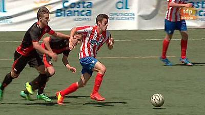 Torneo Interclubes Costa Blanca, 1/4 final. Atlético de Madrid - Rayo Vallecano. Desde Torrevieja (Alicante)