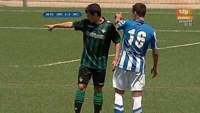 Torneo Interclubes Costa Blanca, fase previa. Real Sociedad - Real Betis Balompie. Desde Torrevieja (Alicante)