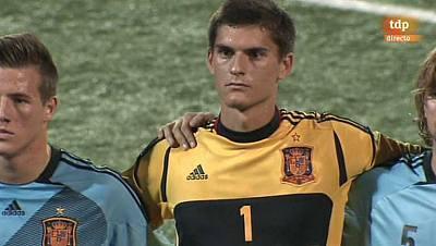 Torneo Internacional Sub-19. COTIF 2013 - 2ª Semifinal: España - Canadá