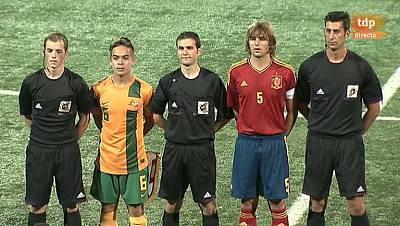 Torneo Internacional Sub-19. COTIF 2013 - España-Australia