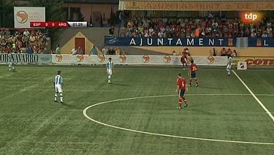 Torneo Internacional Sub-19. COTIF 2013 - Final: España - Argentina