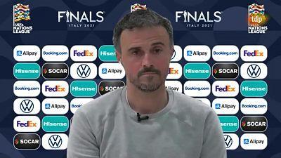 UEFA Nations League 2020. Entrevista Luis Enrique