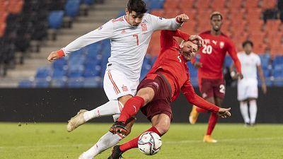 UEFA Nations League 2020. Partido: Suiza - España