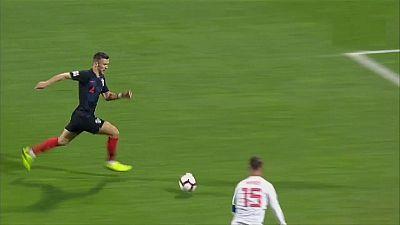 UEFA Nations League Post-partido Croacia - España