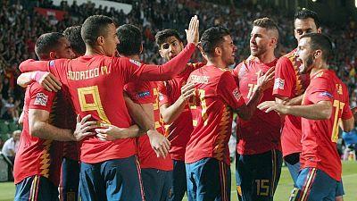 UEFA Nations League Post-partido España - Croacia desde Elche (2)