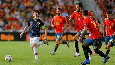 UEFA Nations League:España - Croacia