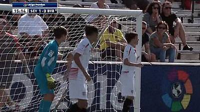 XX Torneo Internacional LaLiga Promises Sub-12. Miami 2015: 1/4 Final Sevilla-Borussia Dortmund