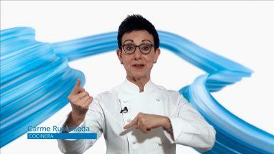 La cocinera catalana Carme Ruscalleda felicita a TVE en su 60º aniversario