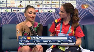 Gimnasia rítmica - Campeonato de Europa Competición I Grupo A desde Minsk (Bielorrusia) Parte 1- 28/05/11