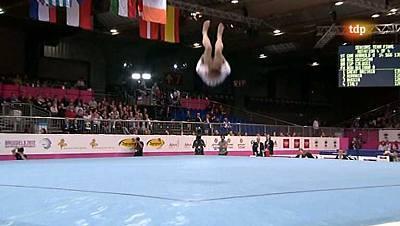 rítmica - Campeonato europeo femenino: Equipos