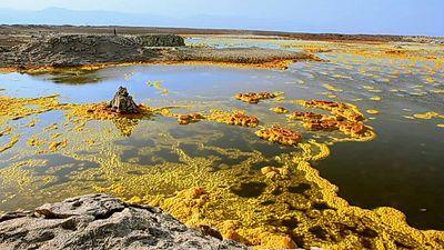 Odiseas volcánicas: Cruzando el Danakil