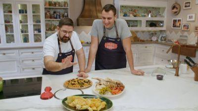 Cocido madrileño y croquetas de cocido