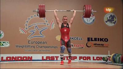 Campeonato de Europa 77 Kgs. Masculino