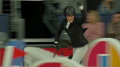 Concurso de saltos Madrid Horse Week. Gran Premio Copa del Mundo
