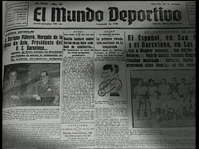 Arxiu TVE Catalunya - Història del Futbol Club Barcelona -  Barça i Franquisme - Capítol 5