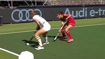 Campeonato de Europa femenino. 3º y 4º puesto: Belgica - España