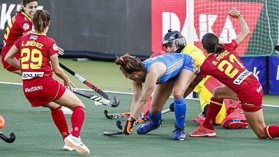 Campeonato de Europa femenino: España - Países Bajos