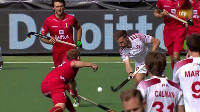 Campeonato de Europa masculino. 3º- 4º puesto: Inglaterra - Bélgica