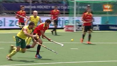 Campeonato del mundo: España - Australia