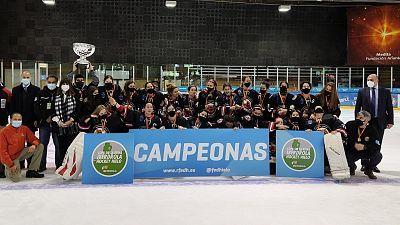 Copa de la Reina Hockey Hielo: Majadahonda 5-2 CH Txuri Urdin