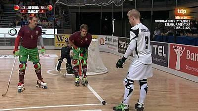 Hockey Patines - Campeonato del Mundo. Tercer y cuarto puesto: Alemania-Portugal (1)