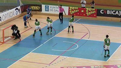 Hockey patines - Copa de la Reina. 1/4 final: Cerdanyola CH - CP las Rozas