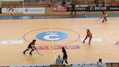 Hockey patines - Copa de la Reina. 1/4 final: Magic Studio CP Manlleu - Telecable HC