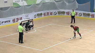 Hockey patines - World Roller Games 2017. Campeonato del Mundo Masculino Final: España-Portugal