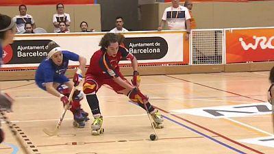World Roller Games femenino: Chile - España
