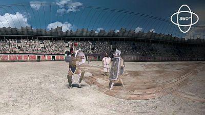 360º: Así luchaban los gladiadores romanos