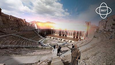 360º: Teatro Romano de Cartagena