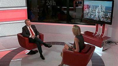 La tarde en 24 horas - Entrevista - 20/11/17