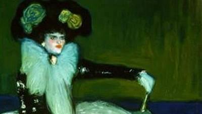 La mujer en azul (Picasso)