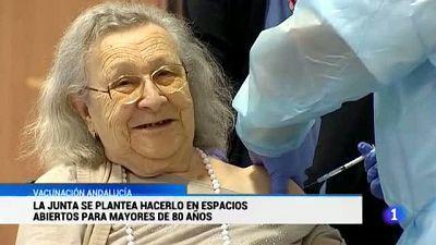 En Andalucía solo hay 90.888 personas con las dos dosis puestas