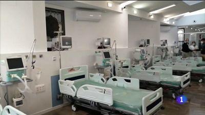 La capilla de un hospital convertida en UCI