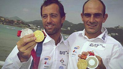 Programa 37:  Vela. Xabi Fernández e Iker Martínez