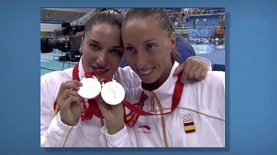Programa 51: Natación sincronizada dúos, Andrea Fuentes y Gemma Mengual