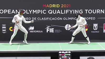 Esgrima - Torneo preolímpico. Final espada femenina