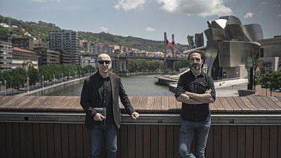 Jon Bilbao y Manuel Astur