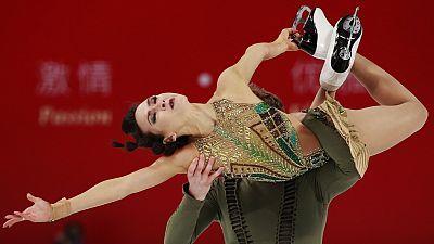 Patinaje artístico - Copa de China. Programa libre danza.
