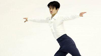 Patinaje artístico - NHK Trophy. Programa libre masculino