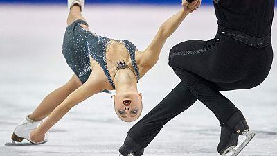 Patinaje artístico - Skate Canadá. Programa libre parejas