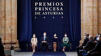 Premios Princesa de Asturias 2020 - Lengua de signos