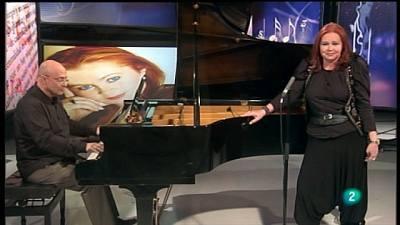 15/02/11 - En el estudio,la mezzo soprano Zandra McMaster