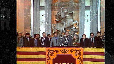 Mercedes Milà recorda l'arribada de Tarradellas
