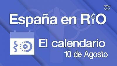 España en Río - 10 de agosto