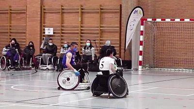 en silla de ruedas - Final Four Liga Nacional